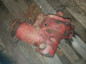 Farmall H Tractor Belt Pulley Drive Assembly Ihc Part 6865dd Early Sh Hv Pto