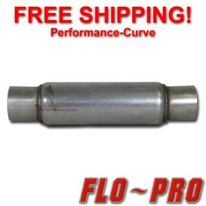 Flo Pro Twister F4 Exhaust Muffler Race Diesel Resonator 3 In 18 Long