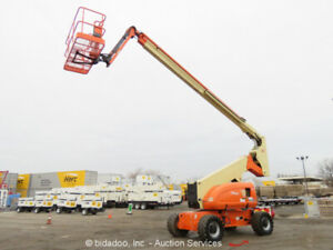 2006 Jlg 800aj 80 4wd Dual Fuel Articulating Boom Lift Skypower Refurb 2013 Man