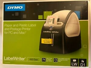 Dymo 1752267 Labelwriter 450 Duo Thermal Label Printer