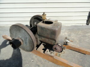 Hit And Miss Engine Sattley Hit Miss Montgomery Wards Vintage Gas Motor 1 1 2 Hp