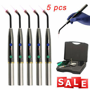 5 Kits Dental Diode Laser System Wireless Laser Pen Soft Tissue Perio Endo 650nm