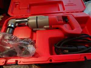 Milwaukee 1107 1 1 2 Right Angle Drill W case