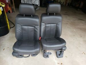 Ford Superduty 2011 2016 Lariat Leather Power Seats