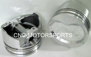 Kb364 030 Keith Black Dish Pistons Sb Ford 4 030 Bore 3 Stroke 5 090 Rod