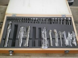 31 Pc Hss Straight Shank Counterbore Set 1 4 1 new