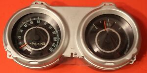 Complete Set Of In Dash Gauges For 1967 Camaro Excellent Condition