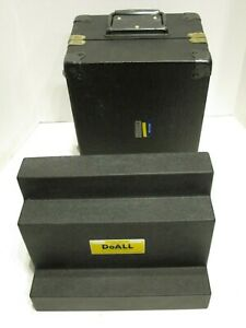 Doall Granite Step Angle Block 00005 Accuracy In Fitted Case 9 High X 12 Nice