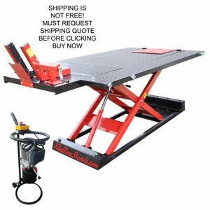 Redline 1500hd Electric 1 500 Lb Motorcycle Atv Utv Lifting Lift Table Jack