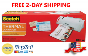 Scotch Thermal Laminator 14 75 X 4 75 X 3 75 Inches tl902a Free Shipping