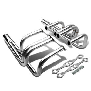 265 350 400 Classic T bucket Street Rod Roadster Header Exhaust For Chevy Sbc V8
