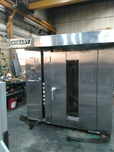 Used Hobart Double Rack Oven Model Dro2g
