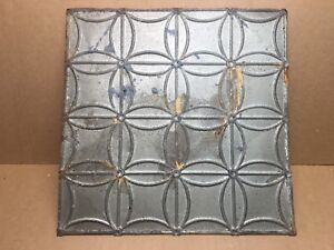 1pc 24 X 24 Full Piece Antique Ceiling Tin Vintage Reclaimed Salvage Art Craft