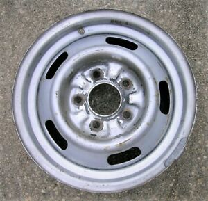 1967 Chevy Ii Nova 14 X 5 Rally Wheel Rim Da Code For Disc Brakes
