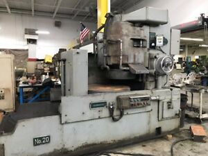 Blanchard No 20 36 Vertical Spindle Rotary Surface Grinder