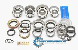 T5 World Class Bearing Seal Synchro Rebuild Kit With Bronze Fork Pads