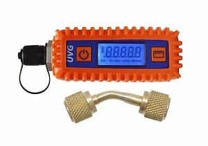 Uniweld Uvg Digital Vacuum Gauge 1 4 X 1 4 Female Adaptor Ships Fast New