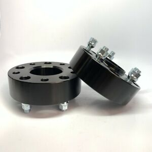 2pc 2 Black Hub Centric Wheel Spacers Adapters For Ram 1500 2012 2018 5x5 5