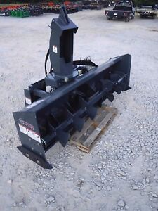 Bobcat Skid Steer Attachment 84 Virnig V50 Low Flow Snow Blower Ship 199