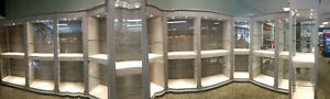 Museum Quality Fixtures Display Cases Retail Furnitures And Showcase With Led