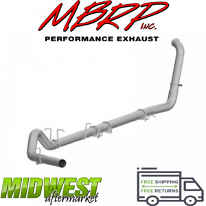 Mbrp 4 Turbo Back Exhaust W o Muffler For 03 07 Ford F250 F350 6 0l Powerstroke