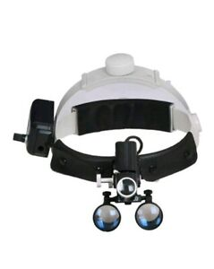 5w Led Surgical Medical Dental Headlight Head Lamp 3 5x420mm Loupes Magnifier
