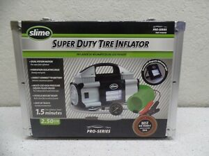 Slime Pro series Super Duty Tire Inflator Pro Series 40048 W Removable Light