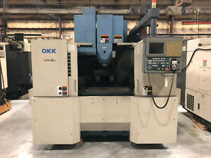 2006 Okk Vm 5 Ii Cnc Vertical Machining Center 8k Rpm Spindle