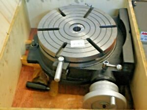 12 H V Precision Rotary Table tsl320 new Pic 25083