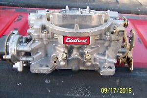 Edelbrock 1406 Carburetor Good Performer