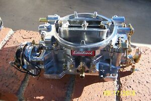 Carburetor Performer Series Edelbrock 1413