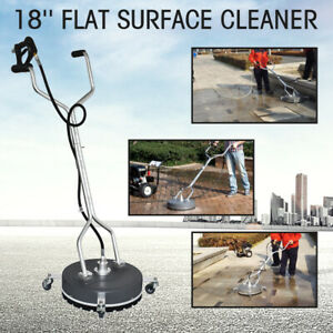 18 Surface Cleaner Flat Concrete Cleaner 4000psi