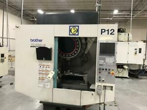 2010 Brother Tc s2d 0 Cnc 4th Axis Vertical Machining Center 10k Rpm 21 Atc