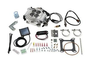 Holley Sniper Efi Fuel Injection Conversion Kit Sbc Sbf Bbf Bbc 550 510 Polished