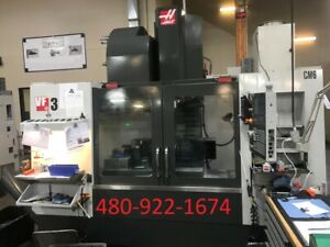 2014 Haas Vf 3 5 Axis Vertical Machining Center Cnc Ref 7796857