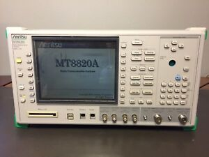 Anritsu Mt8820a Radio Communication Analyzer 30mhz 2 7ghz Opt 01