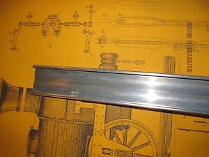 1950 Plymouth Stainless Steel Rocker Panel Molding Lh 75 Long Driver Side