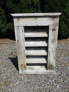 Large Vintage Wood Barn Vent 34 H X 24 Farmhouse Architectural