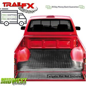 Trailfx Black Drop In Rubber Truck Bed Mat Fits 2006 2014 Honda Ridgeline