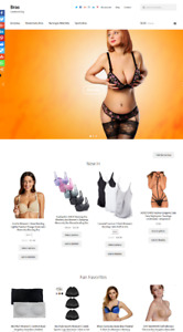 Bras Website Business For Sale Fully Stocked