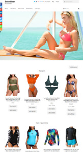 Womans Swimwear Website Business For Sale Fully Stocked