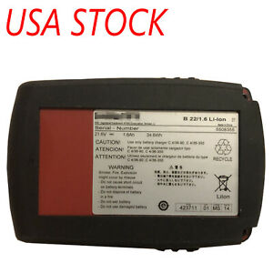 21 6v 18v Volt Cpc Li ion Cordless Tool Battery For Hilti B22 1 6ah