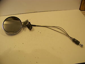1966 67 68 69 70 Dodge Charger Super Bee Plymouth Road Runner Lh Remote Mirror
