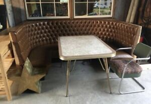 Highland House Dining Booth Man Cave Retro