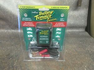 New Deltran Battery Tender Jr Junior Maintainer Charger 021 0123 12v Volt 8d