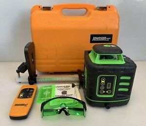 Johnson 40 6543 Self leveling Rotary Laser Level W Greenbrite Technology