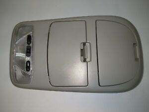 Ford Focus Overhead Console Storage Dome And Map Light In Tan 03 04 05 06 07