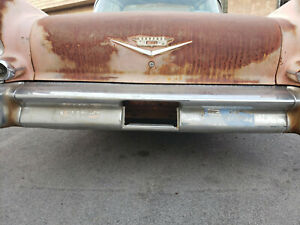 1958 Cadillac Deville Sedan Rear Bumper Center