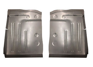 1953 1954 Pontiac Chevy 150 210 Series Bel Air Deluxe Front Floor Pans Pair