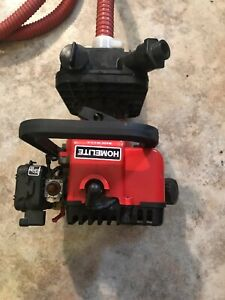 Homelite Ap 125 2 stroke Gas Water Dredge Pump Made In Usa Runs Great Condition